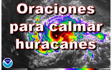 Oraciones para calmar huracanes