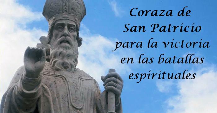 Coraza de San Patricio para la victoria en las batallas espirituales