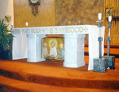Escasez de sacerdotes - altar