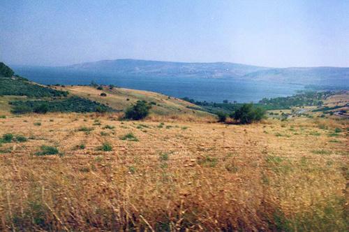 Monte de las Bienaventuranzas donde Jesús predicó el Sermón de la Montaña