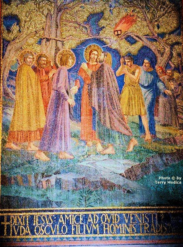Judas betrayed Jesus. Who has betrayed you?