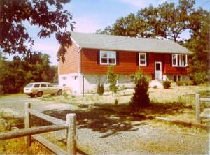 nuestra nueva casa en 1986